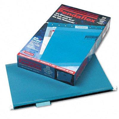 Pendaflex Reinforced Hanging Folders 15 Tab Legal Teal 25Box