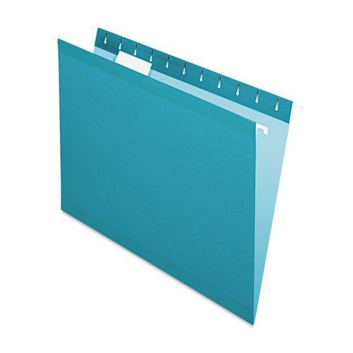Pendaflex Reinforced Hanging Folders 15 Tab Letter Teal 25Box