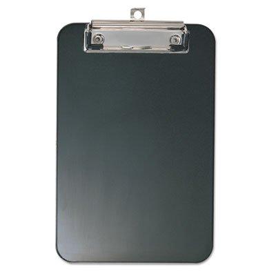 Plastic Memo Clipboard 12 Capacity 6 x 9 Black