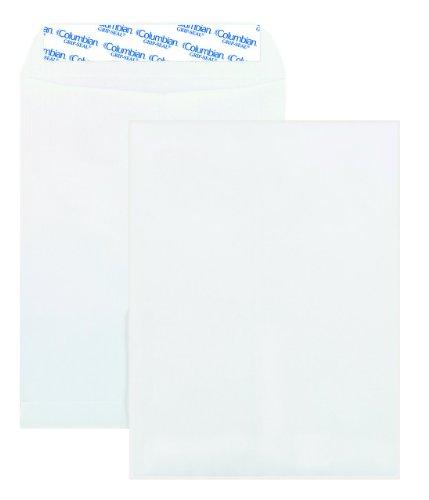 Columbian Catalog Grip-Seal Closure Envelopes 10 x 13 White 100 Per Box CO925
