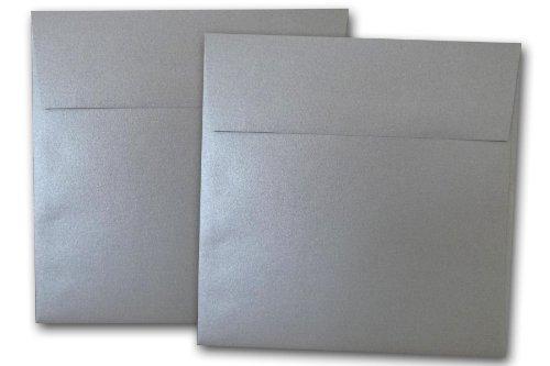 Stardream Metallic Silver 6 Inch Envelopes - 25 Pack