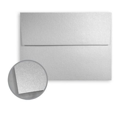 Stardream Silver Envelopes - A7 5 14 x 7 14 81 lb Text Smooth C2S 250 per Box