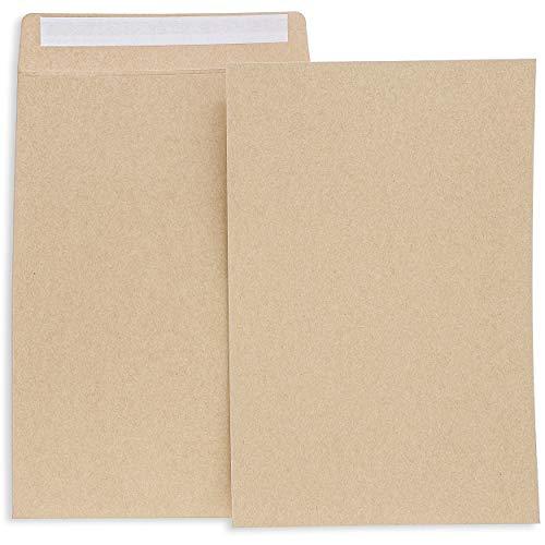 Juvale 120-Pack 6 x 9 Inch Self Seal Kraft Catalog Envelopes