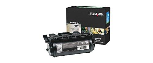Lexmark 64004HA  High Yield Black Toner Cartridge RETURN PROGRAM CART FOR LABELS