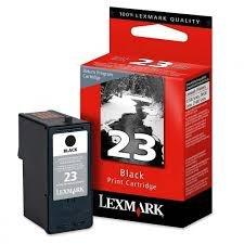 Lexmark Genuine Brand Name OEM 18C1523 No 23 Lexmark 23 Black Inkjet Cartridge Return Program for X3530 X3550 X4530 X4550 Z1410 Z1420 Printers