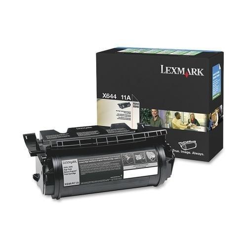 Lexmark Print CartridgeReturn Program10000 Page YieldBlack X644A11A