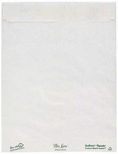 Quality Park R3140 Quality Park White Leather Tyvek Envelopes 10x13 White