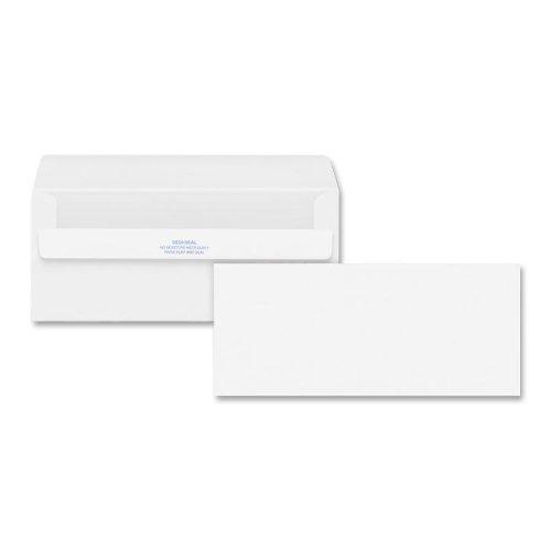 Quality Park Redi-Seal Envelopes 10 Plain White 500Box 11118