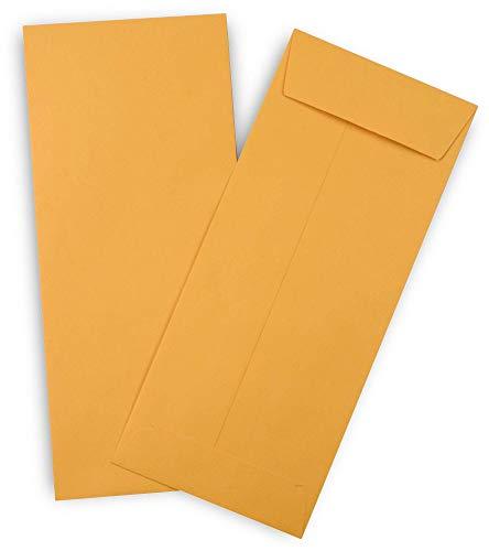Guardian 11 Policy Envelopes Open End 4-12 x 10-38 Brown Kraft 500Box