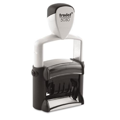 TRODAT T5030 Trodat Professional Stamp Dater Self-Inking 1 58 x 38 Black