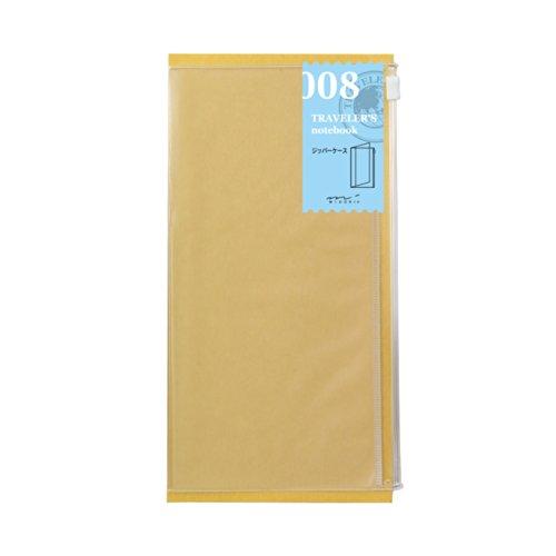 Midori Travelers Notebook Refill 8 Clear Zipper Pocker
