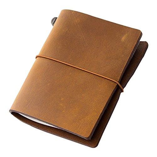 Midori Travelers Notebook - Starter Kit Camel Passport Size