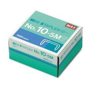 Mini Staples for use in Max HD-10DF Stapler 38 Crownx316 Leg 5000Box MXB105M