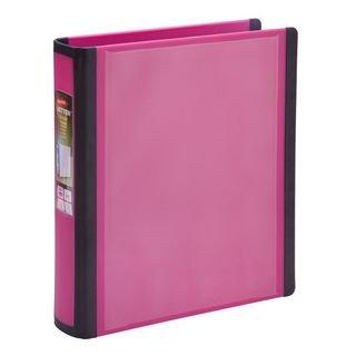 Staples BETTER Mini Binder 5-12 x 8-12  1 Pink