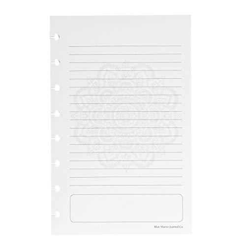 Discbound Filler Paper Junior-Sized Mandala fits 8-disc notebook fits Tul Arc Circa Junior 55x85
