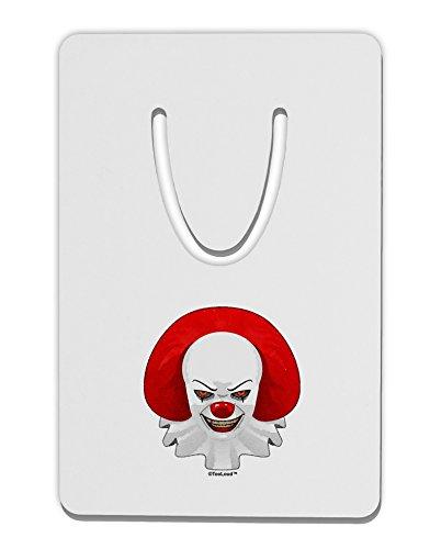 TooLoud Scary Clown Watercolor Aluminum Paper Clip Bookmark