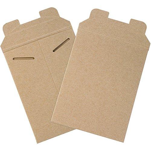 Aviditi Chipboard Flat Mailer 8 X 6 0038 Thick Kraft Case of 100 RM1