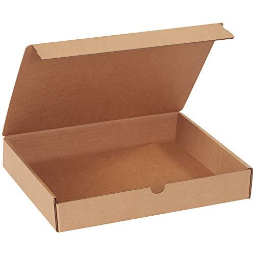 BOX USA BML1292RK Literature Mailers 12 x 9 x 2 Kraft Pack of 50