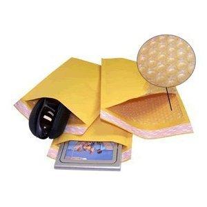 Yens FantasyBuy Kraft Bubble Padded Envelopes Mailers 000 00 0 1 2 3 4 5 6 7 50 pcs   KF6     125X19
