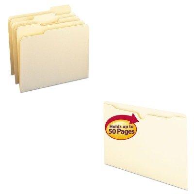 KITSMD10330SMD76410 - Value Kit - Smead File Jackets SMD76410 and Smead File Folders SMD10330