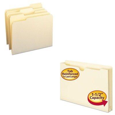 KITSMD10330SMD76540 - Value Kit - Smead File Jackets SMD76540 and Smead File Folders SMD10330
