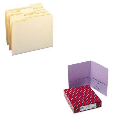 KITSMD10330SMD87865 - Value Kit - Smead Two-Pocket Portfolio SMD87865 and Smead File Folders SMD10330