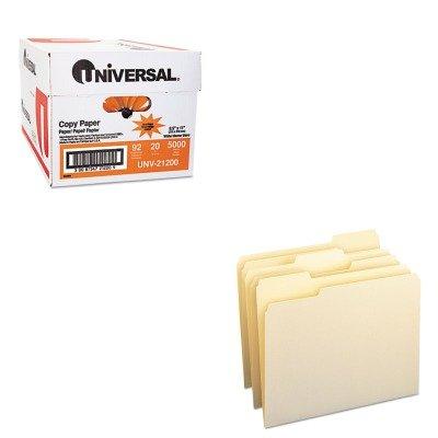 KITSMD10330UNV21200 - Value Kit - Smead File Folders SMD10330 and Universal Copy Paper UNV21200