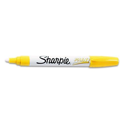 Sanford Sharpie Oil Based Paint Marker Medium Point Yellow 35554
