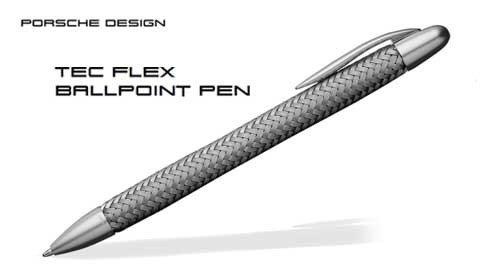 Porsche Design Tec Flex Steel Ballpoint Pen 988709