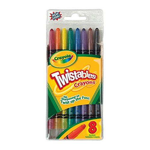 Crayola Twistable Crayons 8 Pack
