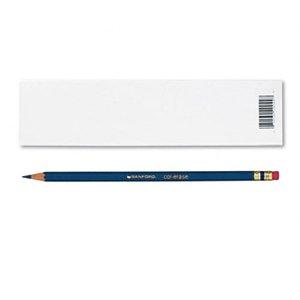 Prismacolor Col-Erase Erasable Colored Pencil INDIGO BLUE Set12