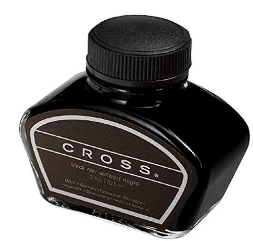 Cross Fountain Pen Bottled Ink Black Single 2oz Bottle 8905S