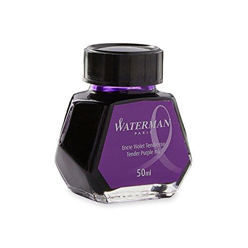 Waterman Fountain Pen Ink Tender Purple 50ml Bottle