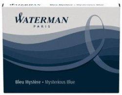 Waterman Refills Blue Black Pack of 8 Fountain Pen Cartridge - 52026W