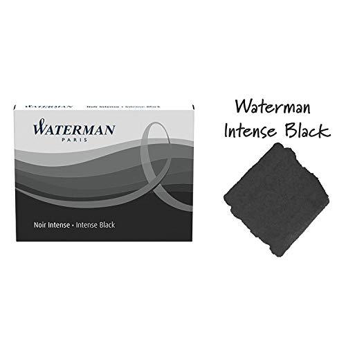 Waterman Waterman Fountain Pen Cartridges Black 8-Pack 52021W