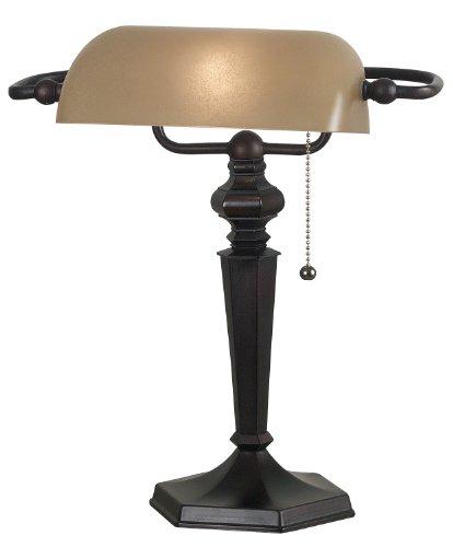 Kenroy Home 20610ORB Chesapeake Banker Lamp Oil Rubbed Bronze