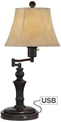Corey Swing Arm Desk Lamp with USB Port