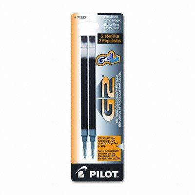 Pilot Refill for G2 Gel Dr Grip GelLtd ExecuGel G6 Q7 Ex Fine Point Blue 2Pack PK - PIL77233
