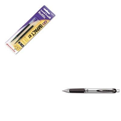 KITSAN65870SAN65873PP - Value Kit - Uni-ball 207 Impact Roller Ball Retractable Gel Pen SAN65870 and Uni-ball Refill for uni-ball Gel IMPACT RT Roller Ball Pens SAN65873PP