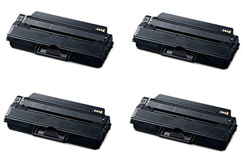 ECOMAX 4 PK MLT-D115L Compatible Black Toner Cartridges Replacement Use for MLT-D115L Xpress SL-M2880FW M2830DW M2620 M2670 M2820 M2870 Printers