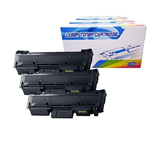 Inktoneram Compatible Toner Cartridges Replacement for Samsung D116L MLT-D116L Xpress M2875 M2875FD M2875FW M2876 M2625 M2625D M2626 M2825DW M2825ND M2826 M2675 M2675F M2675FN M2676 Black 3-Pack