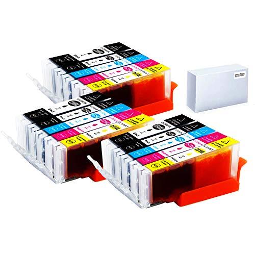 CYHC Compatible Ink Cartridges Replacemen for Canon Pgi-250xl Cli-251xl Pgi250 Cli251 250 251 XL for Pixma Mx922 Mx722 Mg5420 Mg5422 Mg5520 Mg5522 Mg5620 Mg6320 Mg7520 Ip7220 Ip8720 Ix6820 Printer 15P