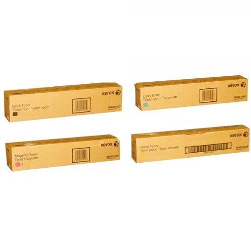 Xerox 006R01457 006R01458 006R01459 006R01460 Toner Cartridge Set OEM Black Cyan Magenta Yellow For The Xerox 7120 and 7125