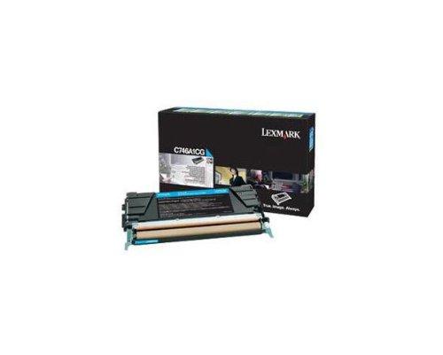 LEXC746A1CG - Lexmark C746 C748 Cyan Return Program Toner Cartridge