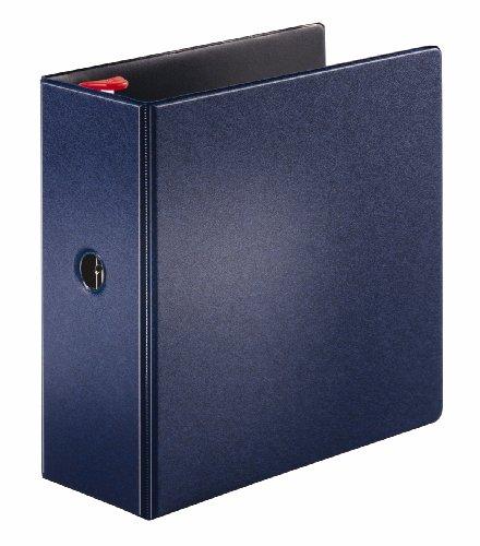 Cardinal Prestige Locking Slant-D Ring Binder 5-Inch Dark Blue 18063V3