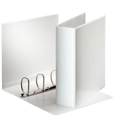 Esselte 49706 Essentials Presentation Binder PP 6 cm Ring Diameter A4 White
