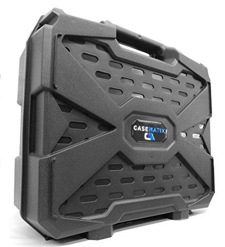 WORKFORCE Safe n Secure Video Projector Hard Case with Dense Internal Foam - For Epson 3LCD XGA SVGA and 3D Projectors - Models VS240  EX3240  VS345  VS340  VS335W  EX7240 Pro  EX5240 Pro