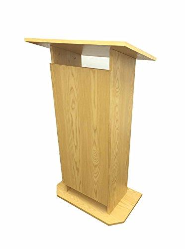 Fixture Displays Wood MDF Podium Pulpit Lectern Reception 14302