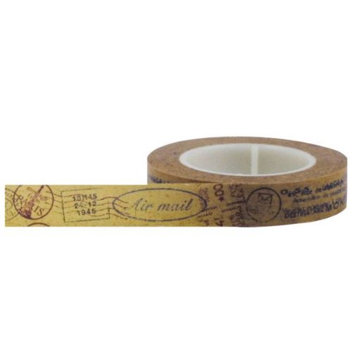 Little B 100030 Decorative Paper Tape Postmark