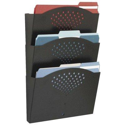 SAF3172BL - Safco Steel Wall Pockets